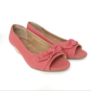 AEROSOLES | Coral Ship Deck Espadrille Wedge Flats